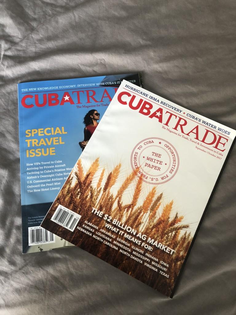 Cuba Trade Magazine - Cuba Ventures Corp